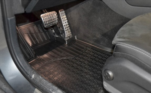Bilde av Gulvmatter gummi Mercedes EQC (2020 ->)