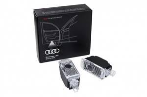 Bilde av Logolys / Puddle lights Audi